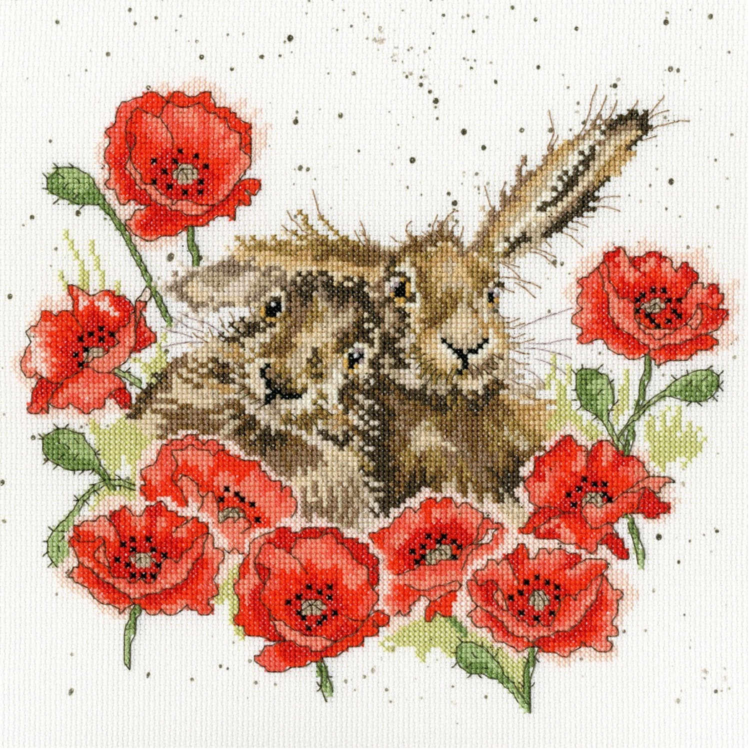 Love is in the Hare <br />Counted Cross-Stitch Kit