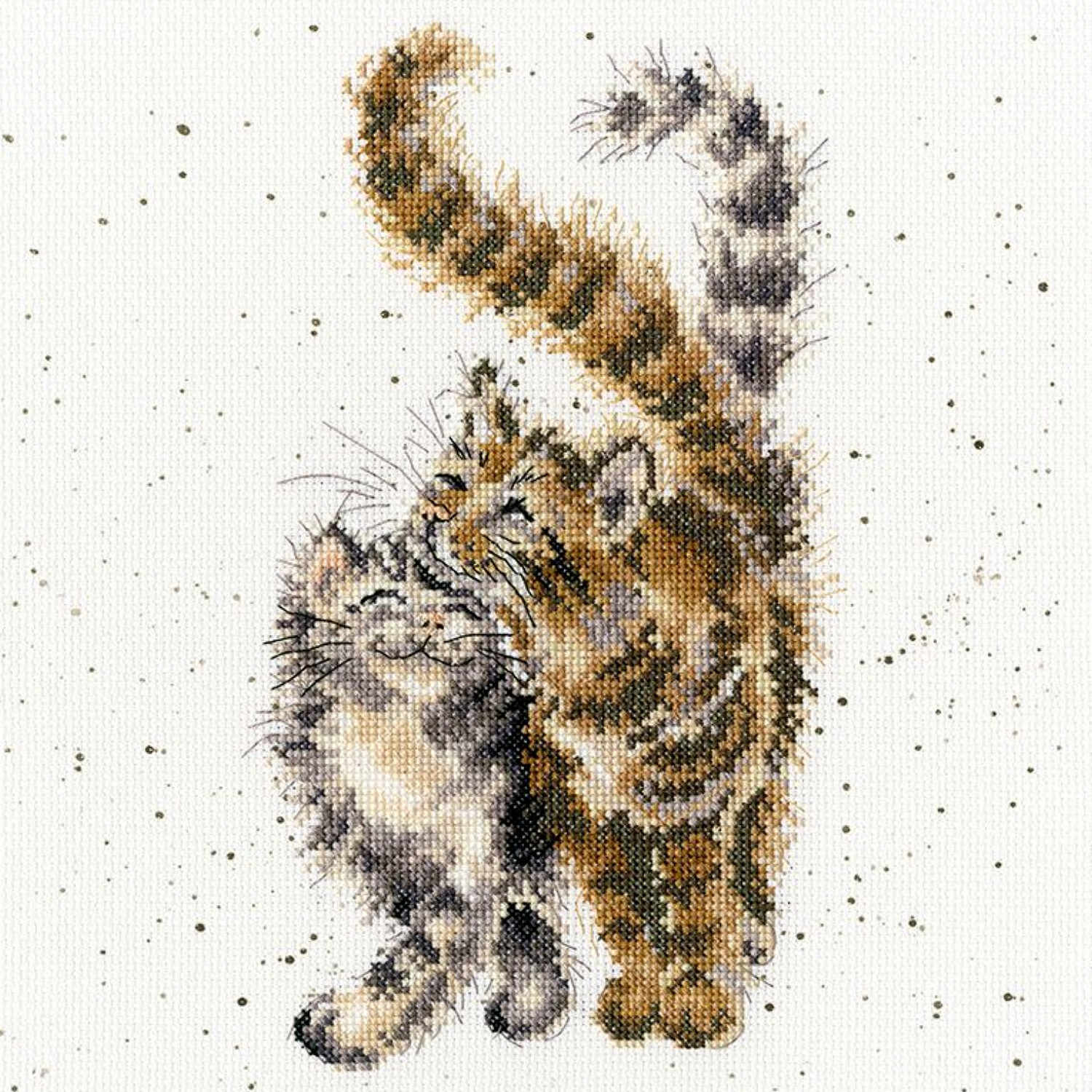 Feline Good <br />Counted Cross-Stitch Kit
