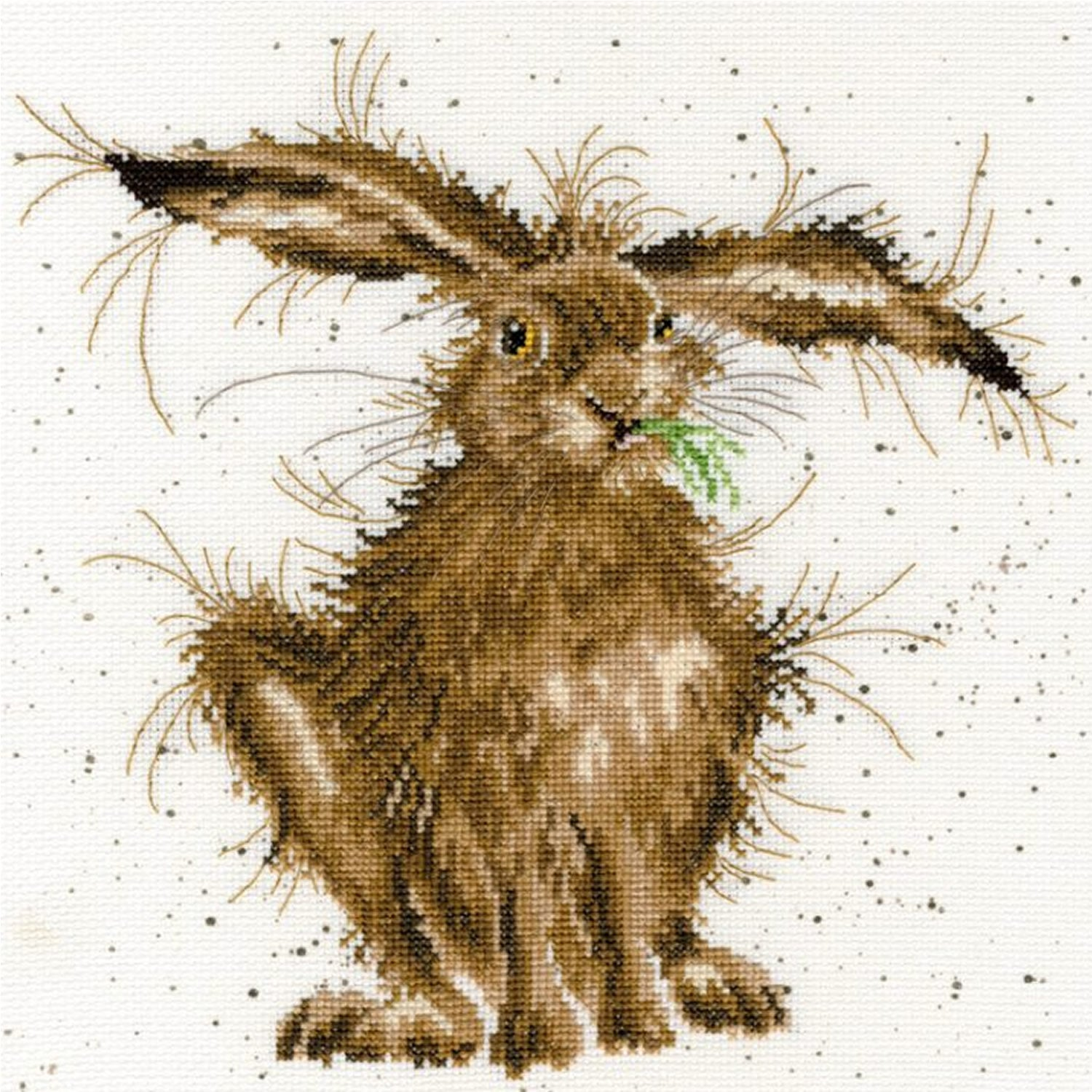 Hare Brained <br />Counted Cross-Stitch Kit