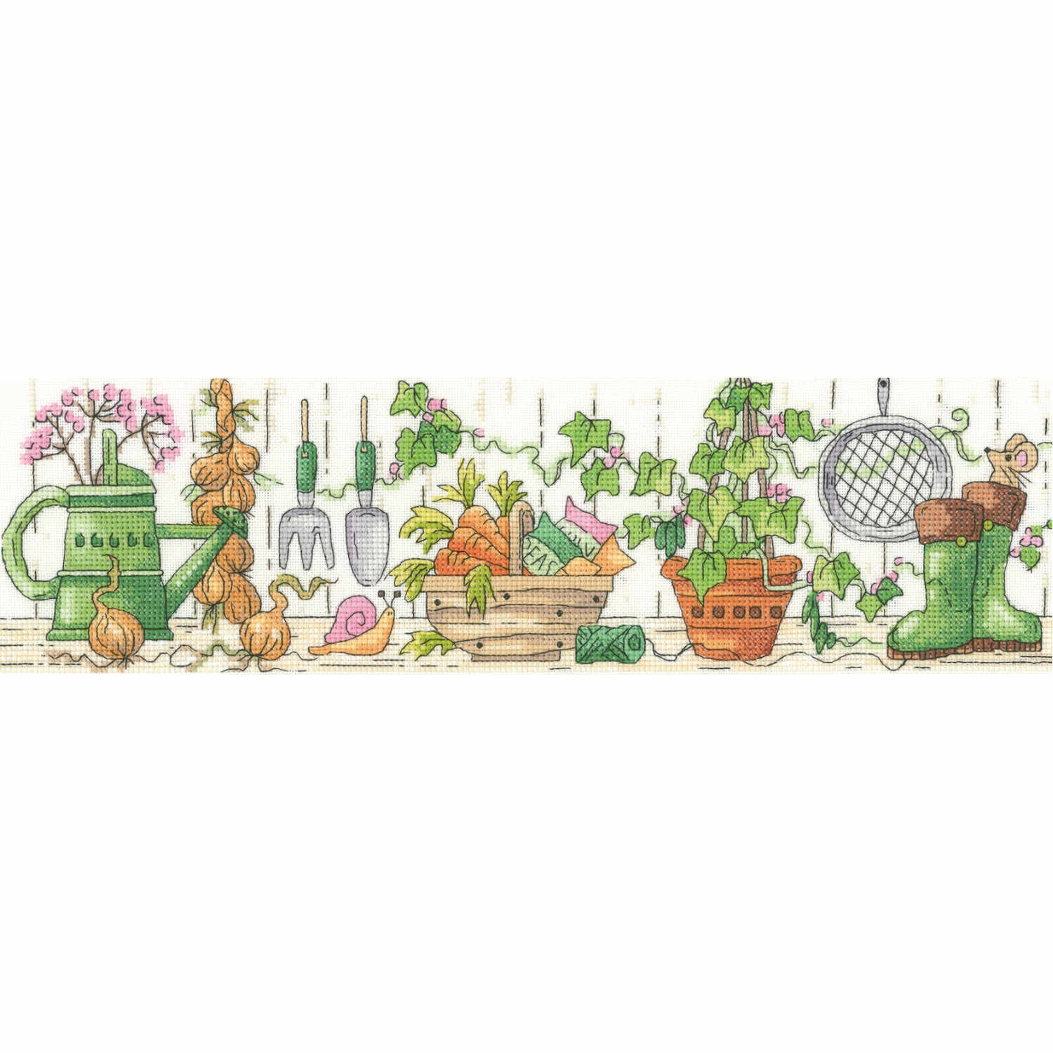 Potting Shed<BR /> Counted Cross Stitch