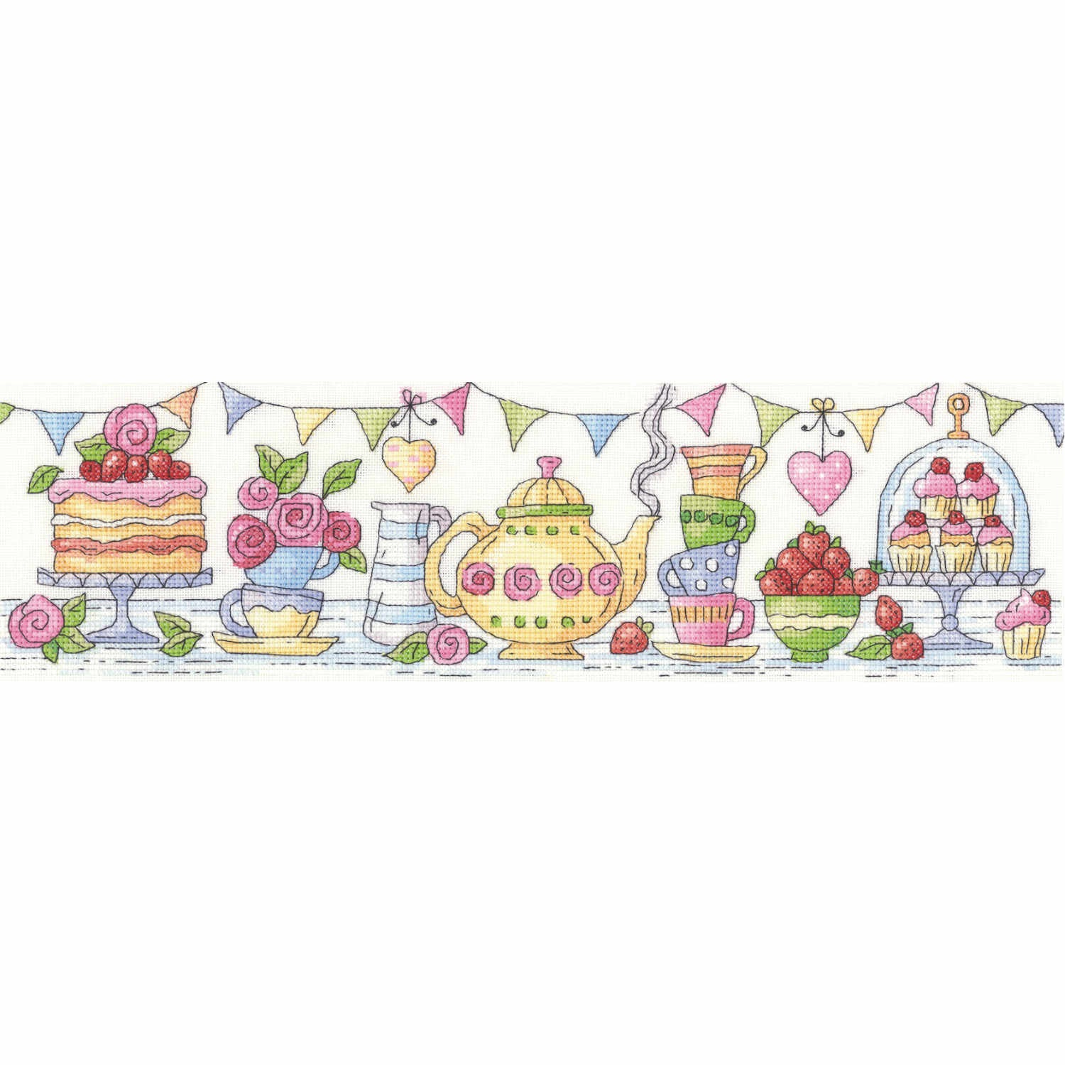 Afternoon Tea<BR /> Counted Cross Stitch