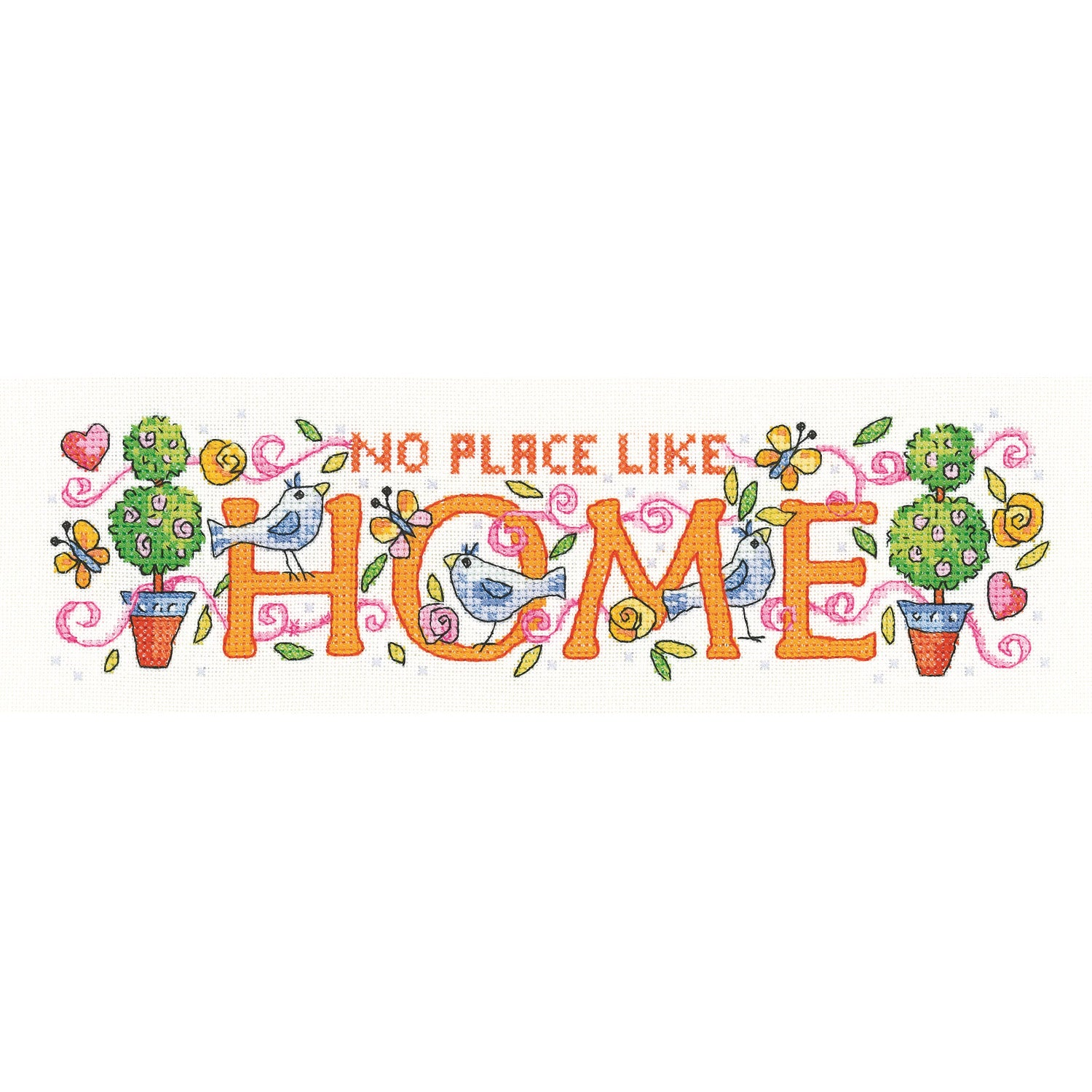 Home <br />Counted Cross Stitch Kit