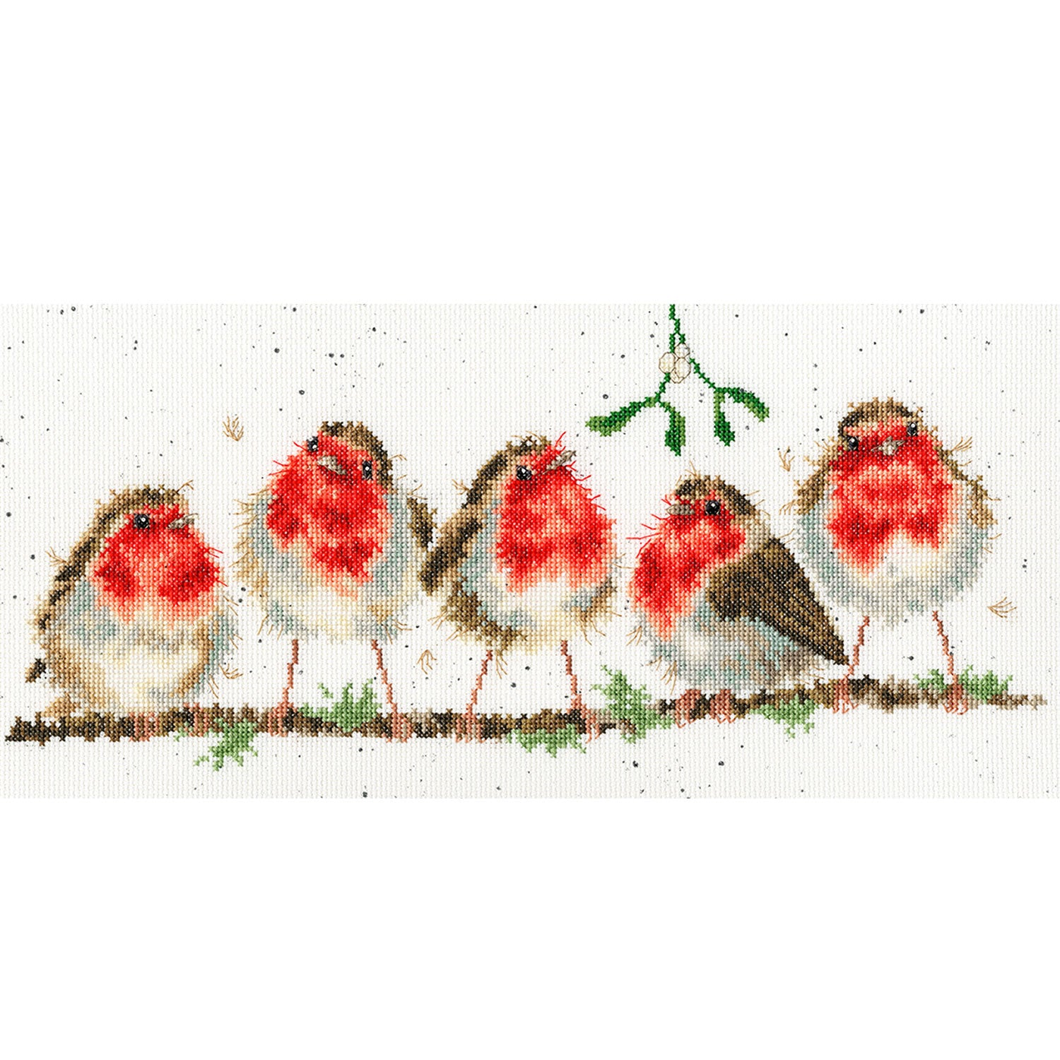 Rockin' Robins<br />Counted Cross-Stitch Kit