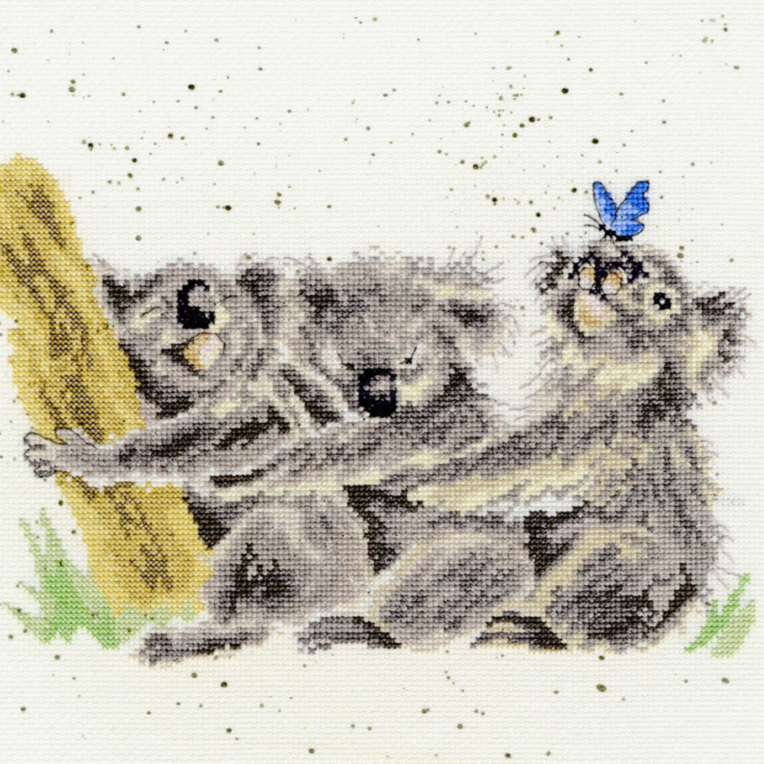 Three of a Kind Koalas <br />Counted Cross-Stitch Kit