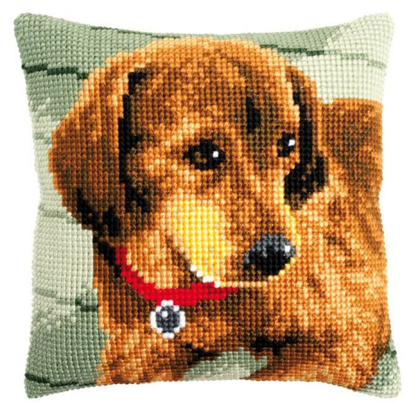 Dachshund <br />Cross Stitch Cushion Kit