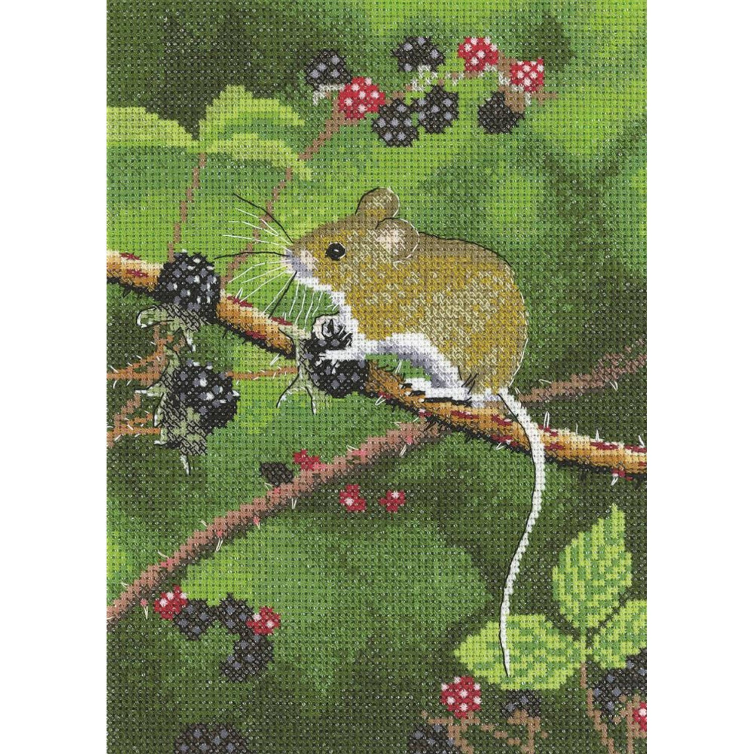 Nigel Artingstall Woodland Mouse <BR />Counted Cross Stitch