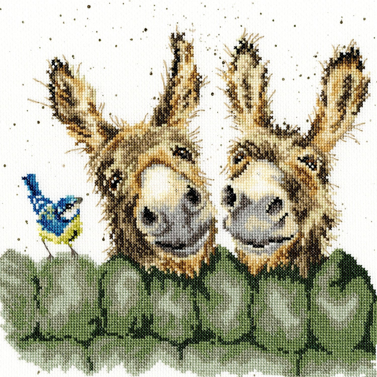Hee Haw Donkey <br />Counted Cross-Stitch Kit