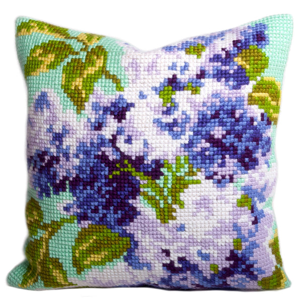 Lilac <br />Cross Stitch Cushion Kit
