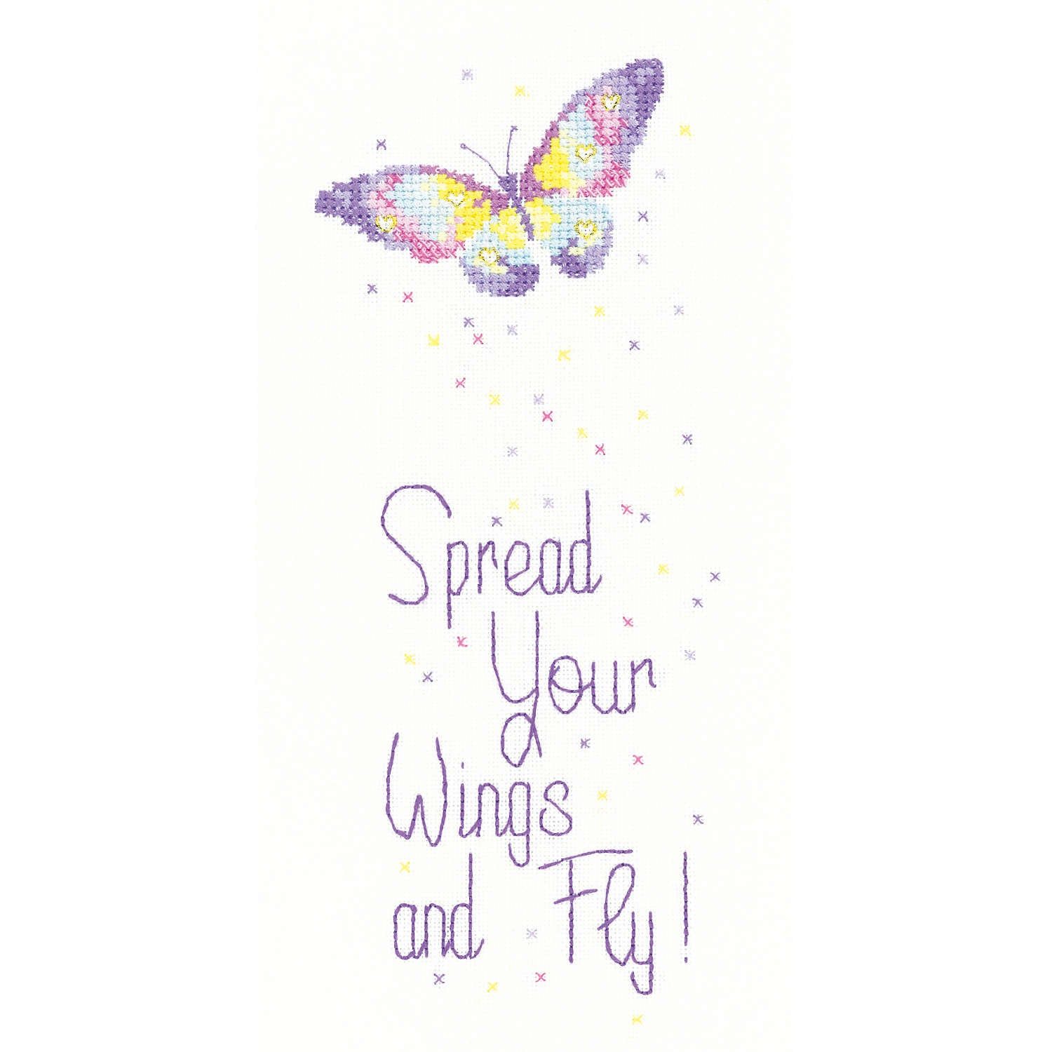 Spread Your Wings <br />Counted Cross Stitch Kit