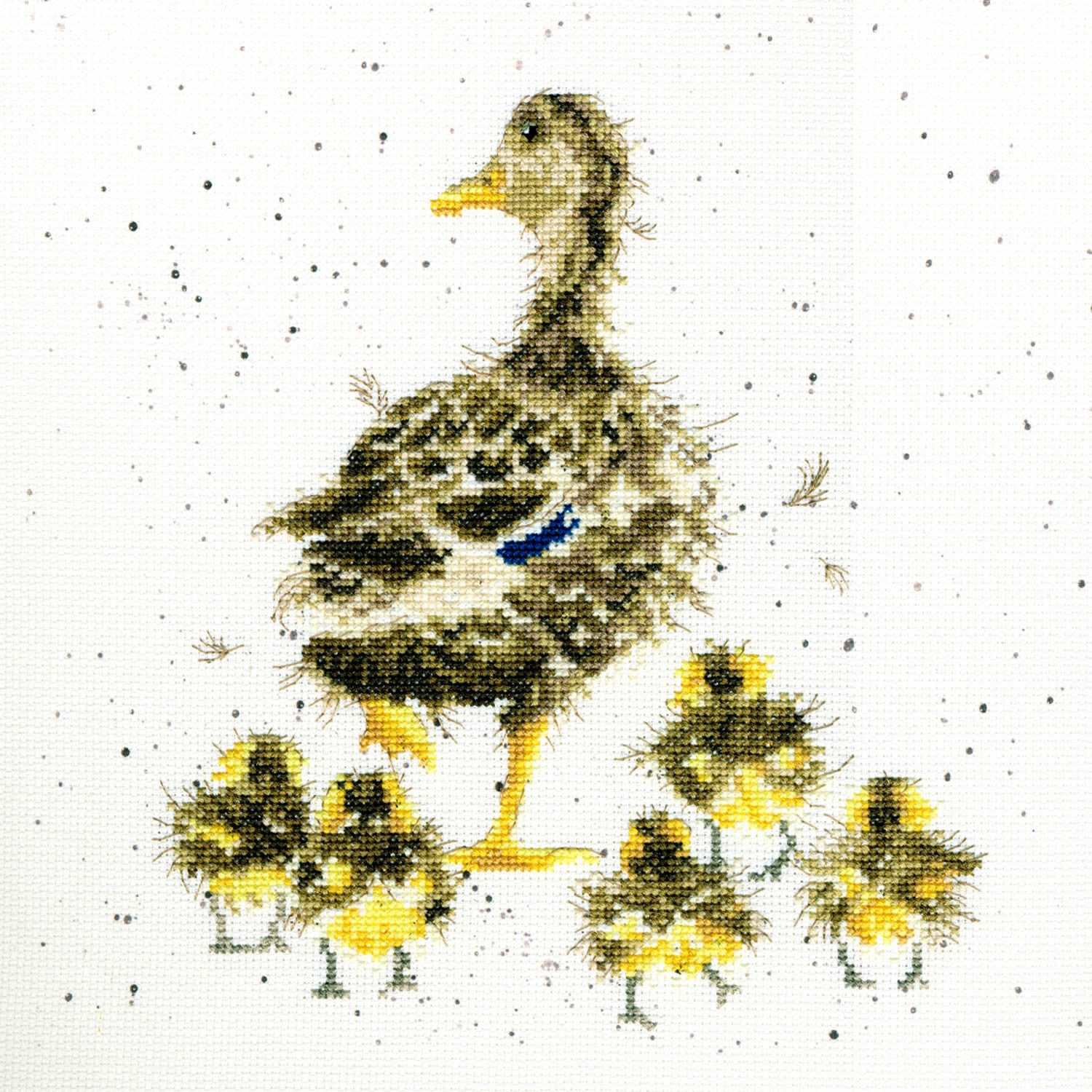 Duck and Ducklings<br />Counted Cross-Stitch Kit