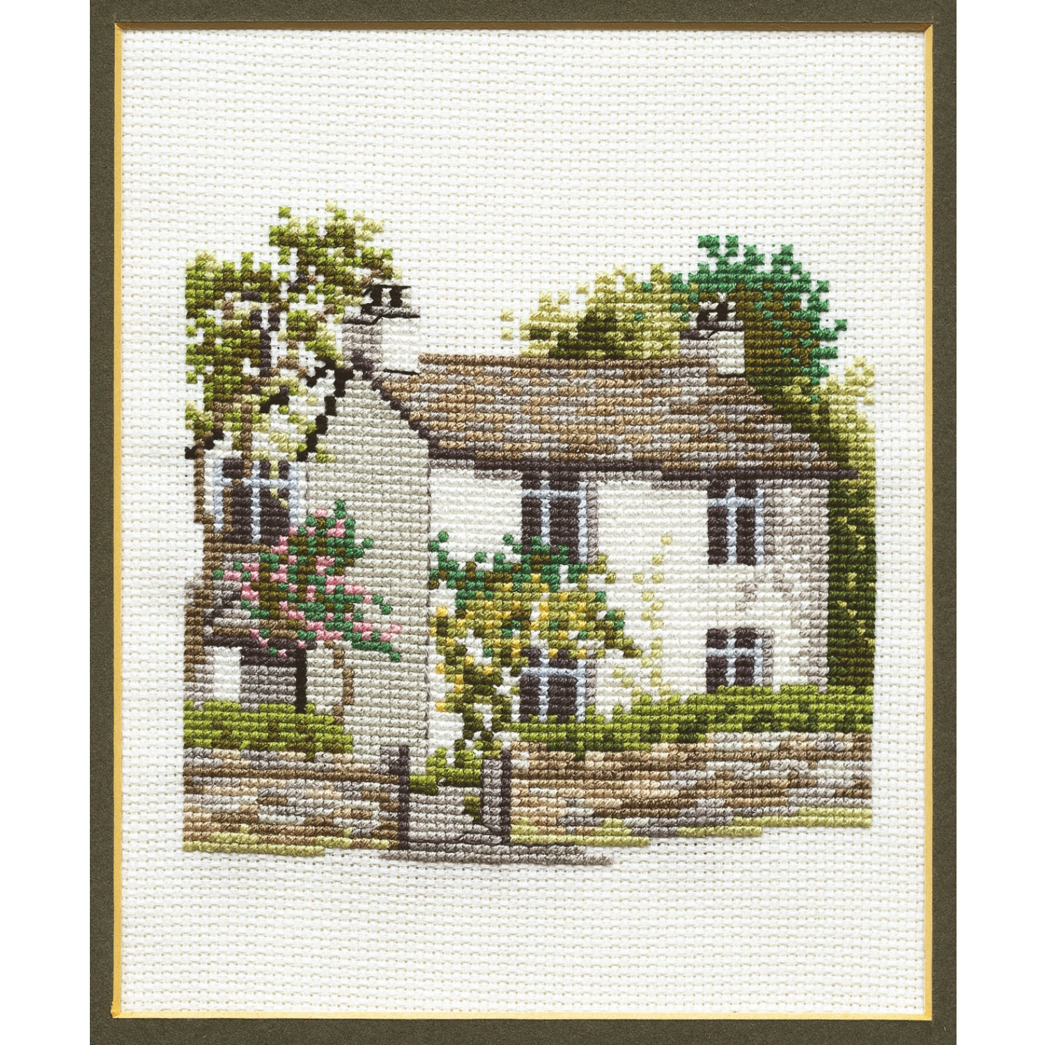 Dove Cottage<br />Counted Cross Stitch Kit