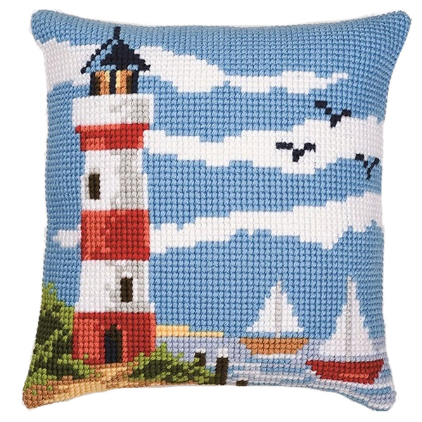 Lighthouse<br />Cross Stitch Cushion Front Kit