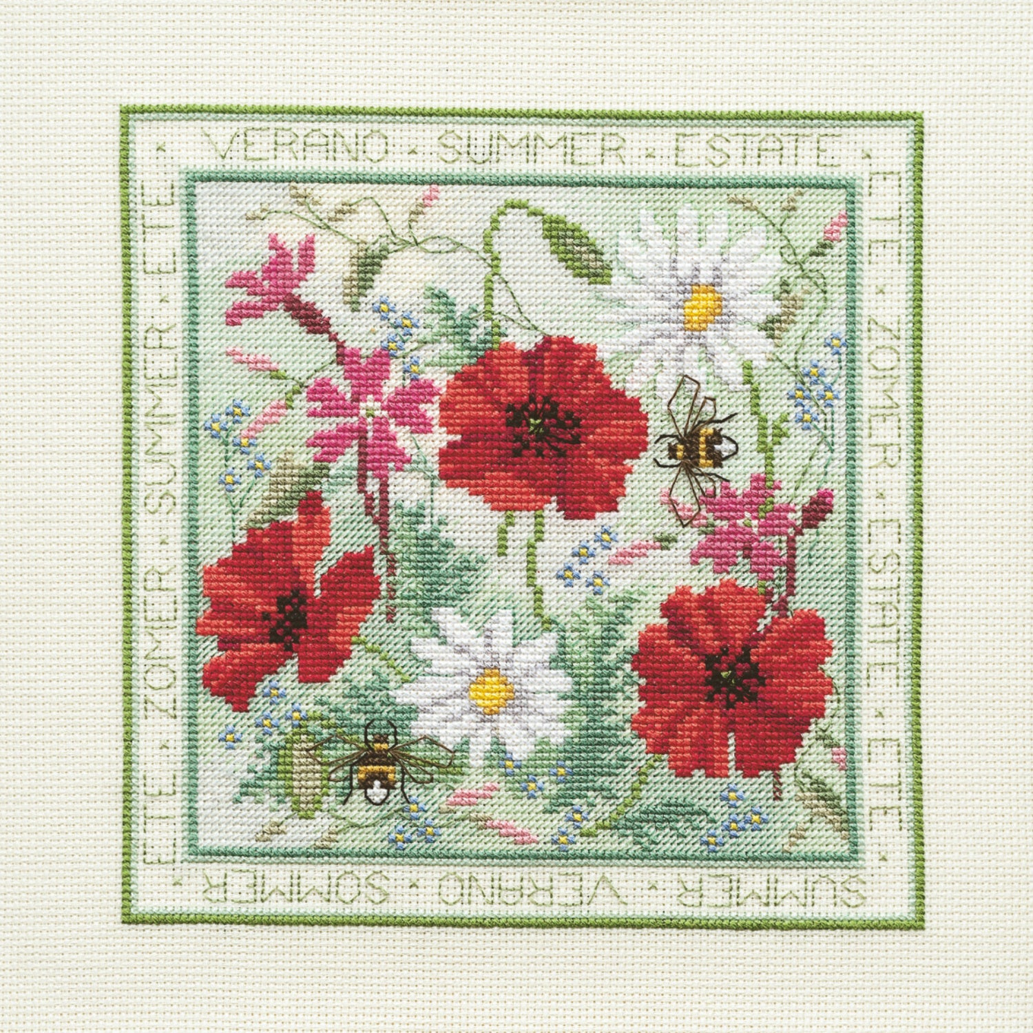 Four Seasons - Summer<br />Counted Cross Stitch Kit