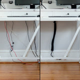Cable Sleeves-Cord Management-Wire Organizer-Wrap,Hider,Cover-4 Sleeves-Best for Home,Office