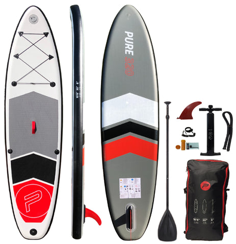 HIKS PURE 10.6FT / 3.2M INFLATABLE STAND UP PADDLEBOARD SET