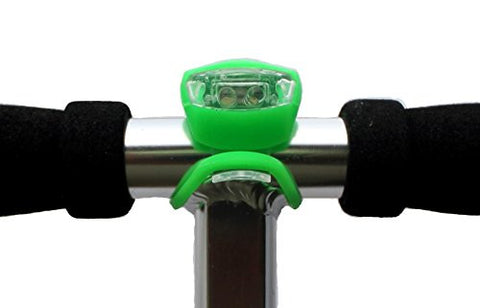 LED Light - Designed to fit all major brands of scooter - Green - HIKS