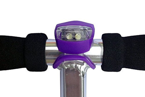 LED Light - Designed to Fit all major brands of scooter - Purple - HIKS