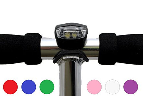 LED Light - Designed to fit all major brands of scooter - Black - HIKS