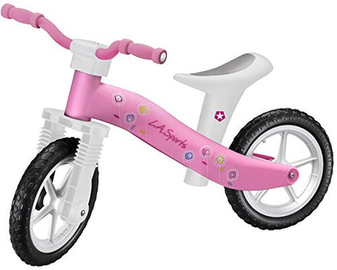 Lightweight Kids Girls Balance Bike - Pink - HIKS