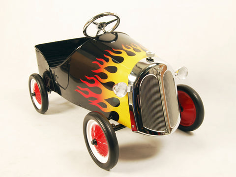 Metal Hot Rod Pedal Car - HIKS