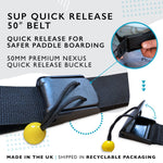 Quick Release SUP Leash Waist Belt Attachment (Standard)