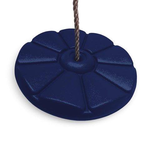 Kids Button Disc Monkey Round Rope Swing Seat - HIKS