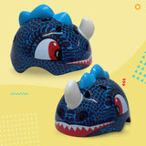 Dinosaur Kids Childrens Bike Helmet - HIKS