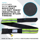 Quick Release SUP Leash Waist Belt Attachment (Hi Viz)