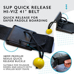 Quick Release SUP Leash Waist Belt Attachment (Junior Standard)