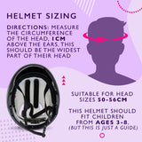 Kids Girls Pink Helmet & Knee / Elbow Pad Combo Set