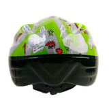 Kids Boys Green Cycling Helmet - HIKS