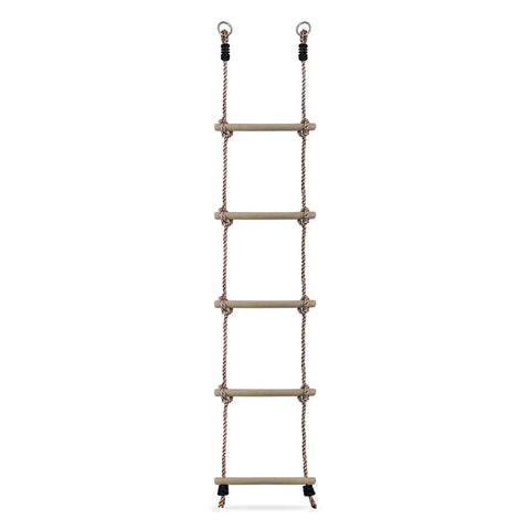 HIKS Kids Rope Ladder with wooden Rungs - HIKS