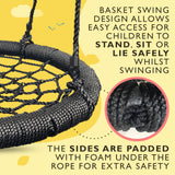 Crows Nest Spider Web Kids Swing Seat - HIKS