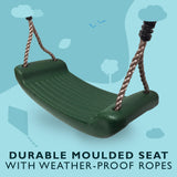 Childrens Garden Swing Seat available in 5 Colours - HIKS