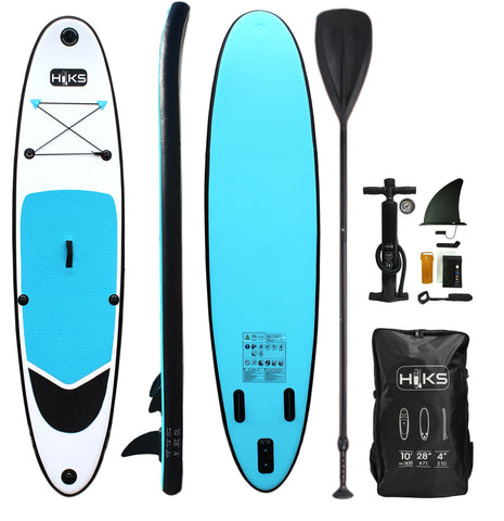HIKS 10ft / 3.05M OCEAN Blue Stand Up Paddle ( SUP ) Board Set - HIKS