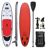 HIKS 10ft / 3.05M RUBY Red Stand Up Paddle ( SUP ) Board Set - HIKS