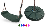 Outdoor Swing Seat Kids Garden Swing Seat Bundles Available in 5 Colours - HIKS