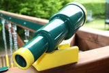 HIKS Pirate Telescope Toy Climbing Frame Accessory - Green - HIKS