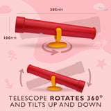HIKS Telescope Toy Climbing Frame Accessory available in 6 Colours - HIKS