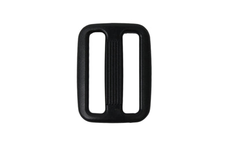 25mm 3 Bar Black Tri Slider Buckles - HIKS