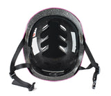 LA Sports Pink Pro Skate Helmet & 6 Piece Pad Set - Junior - HIKS