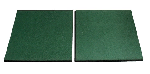 HIKS Green Rubber Safety Matting For Climbing Frames Swings, Playgrounds and Play Areas. - HIKS