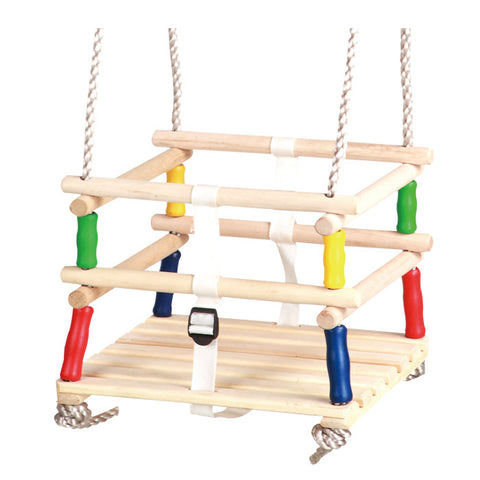 Baby - Toddler Garden  Swing Seat - Wooden - HIKS