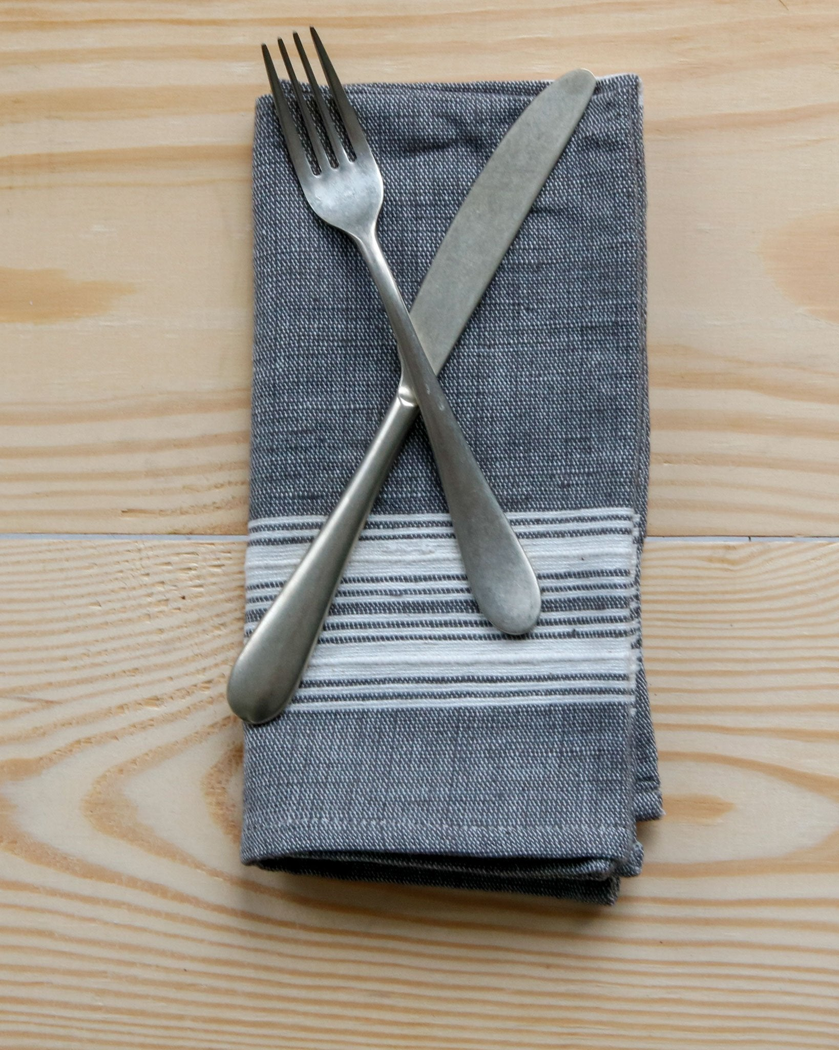 Rounded Flatware in Matte Stainless