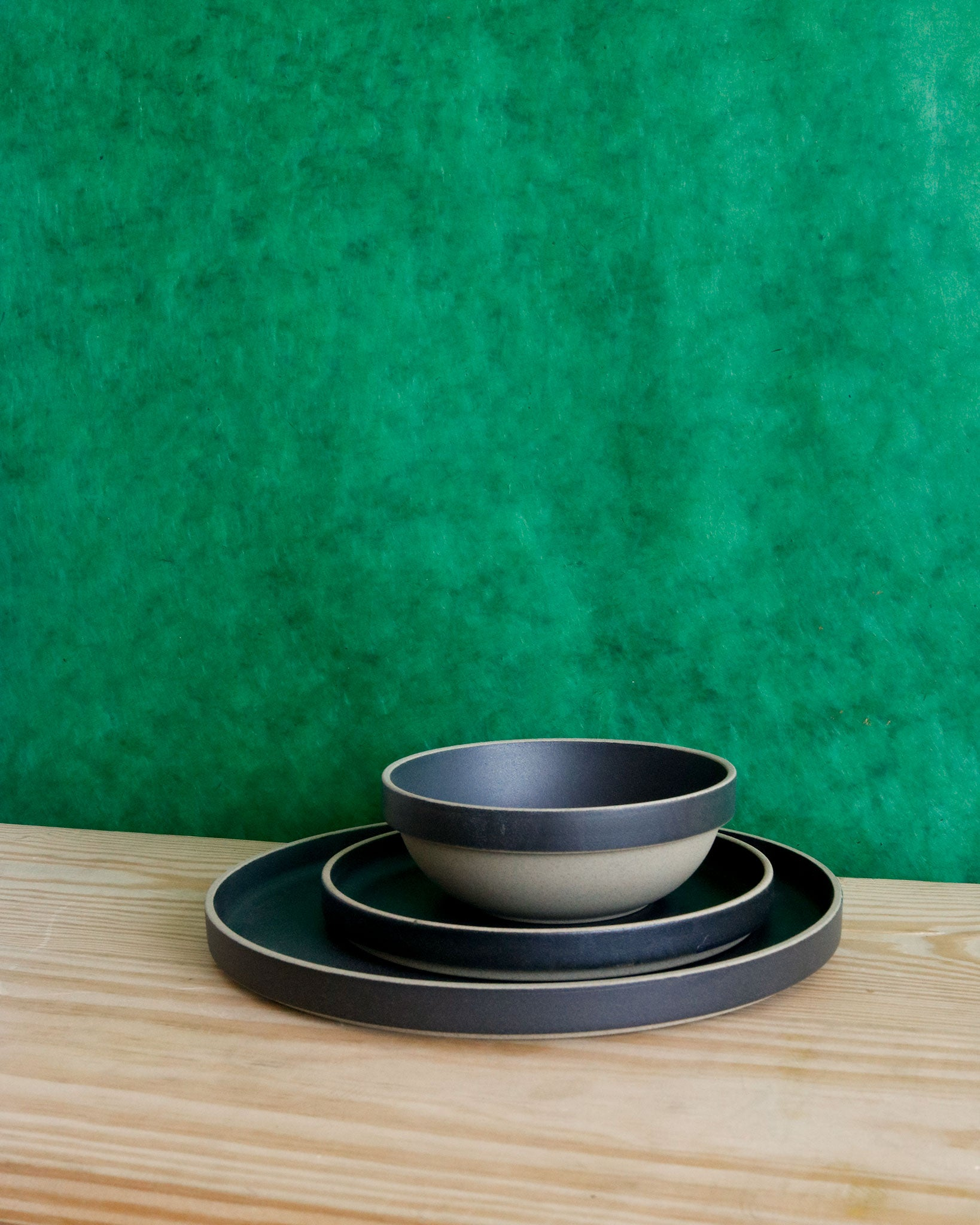Hasami Porcelain in Black