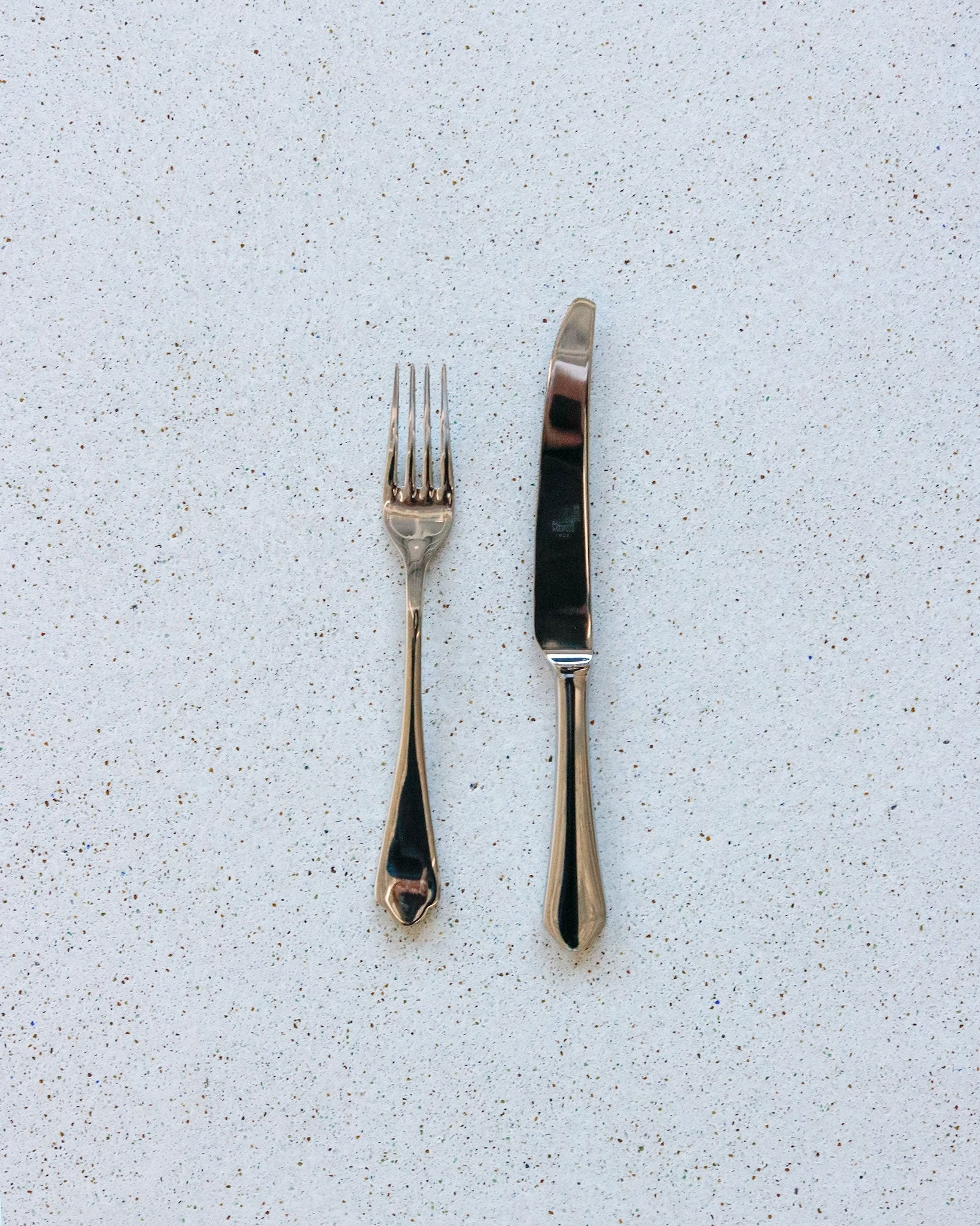 Scalloped Flatware in Polished Stainless