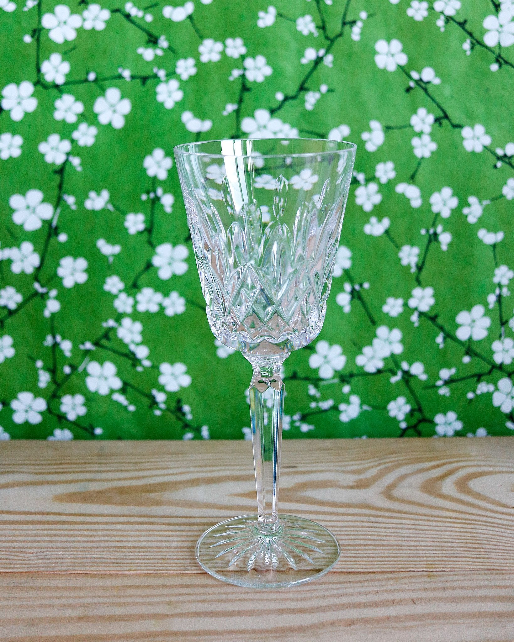 Classic Crystal Wine Glass