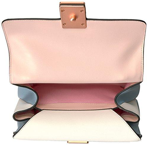 LUANA ITALY Maria Satchel Rose Smoke, Rose Smoke/Yogurt/Pebble