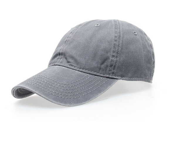 Washed Baseball Snapback Cap
