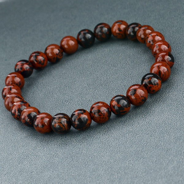 M & S Tiger Eye Bead Bracelet